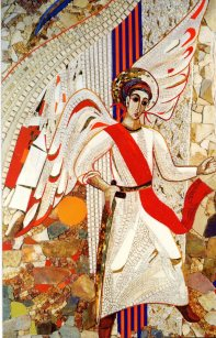 St Michael the Archangel by M.I. Rupnik SJ