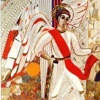 St Michael the Archangel by M.I. Rupnik SJ