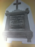 Monument to Fr Patrick McMahon