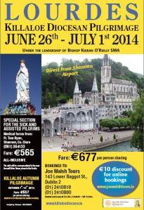 Lourdes 2014 Poster