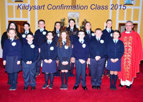 Kildysart  Confirmation Class  2015