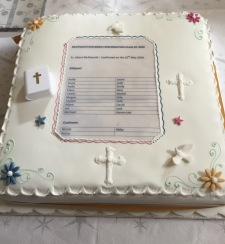 Confirmation (Cake) 2016